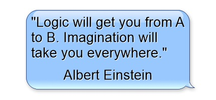 best motivational quotes - logic-will-get-you-from-a-to-b-imagination-will-take-you