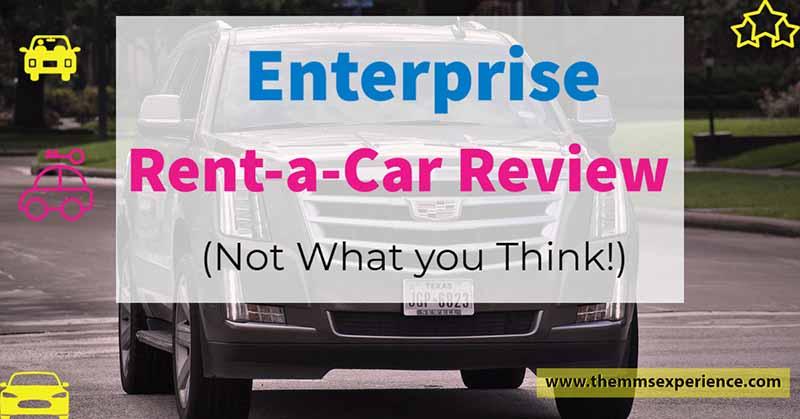 enterprise rent a car review 2021