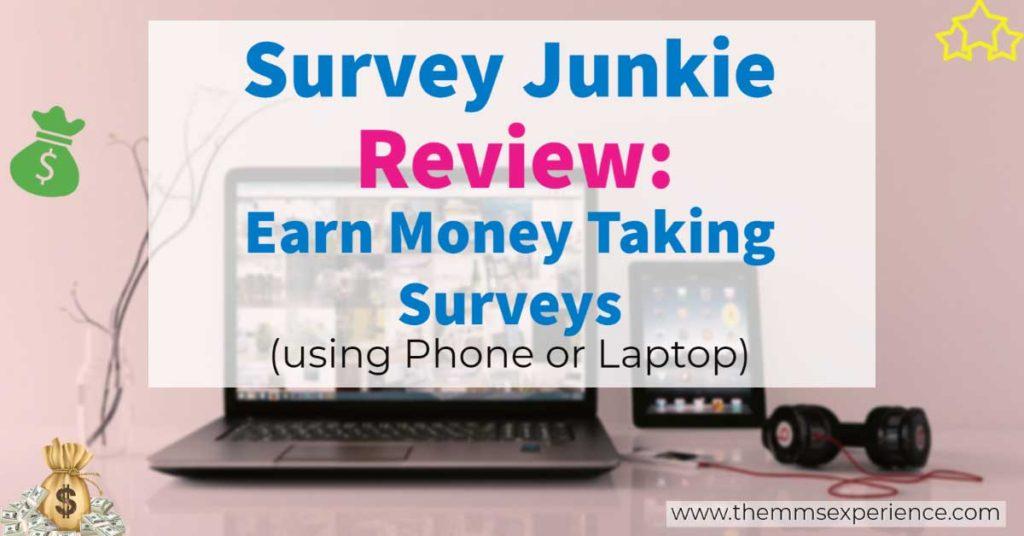 survey junkie review: earn more filling surveys