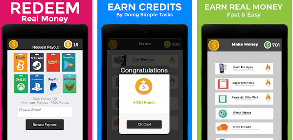Tap tap Money app