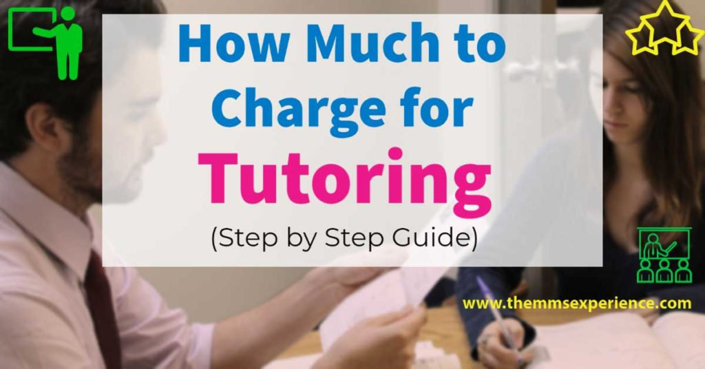 how much to charge for tutoring, tutoring rates per hour