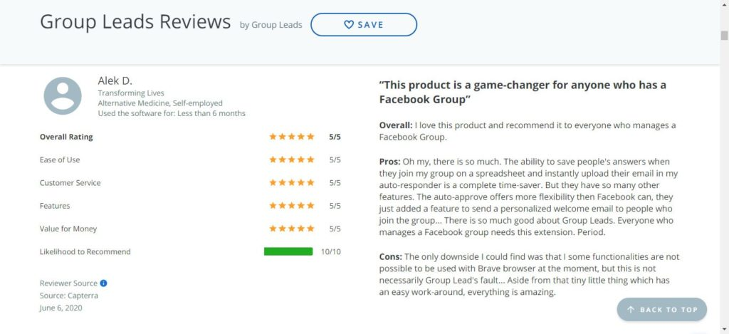 GroupLeads Review: Monetize & Collect Leads from Facebook Groups 1