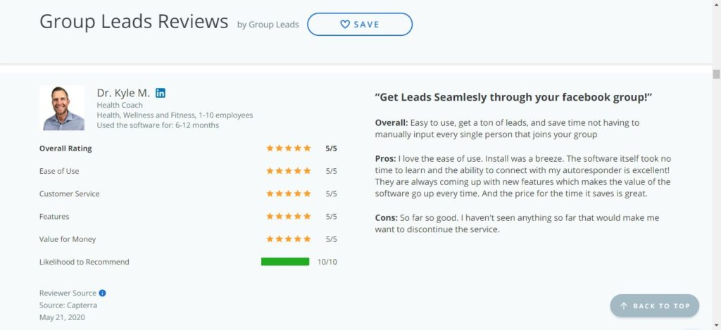 GroupLeads Review: Monetize & Collect Leads from Facebook Groups 5