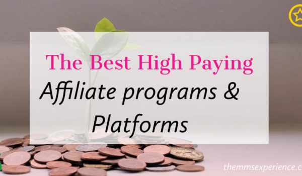 30+ Absolute Best High Paying Affiliate Programs (2021)