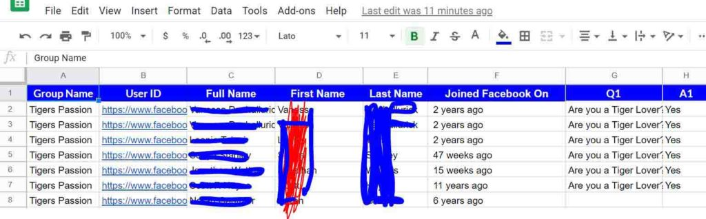 groupleads review email capture excel