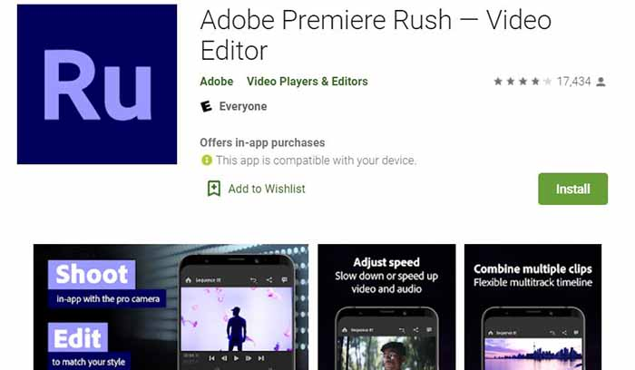 Adobe premier Rush review