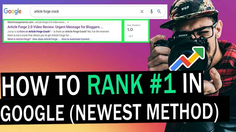 How to Rank number in Google, how to improve google search ranking