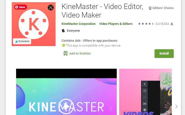 Kinemaster review best video editing app