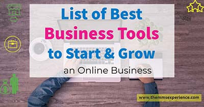 best business tools to start and grow