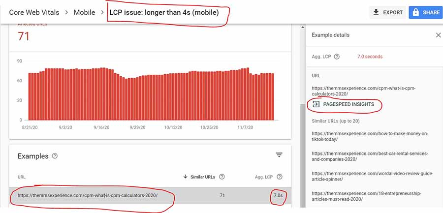 google core web vitals - how to have faster website