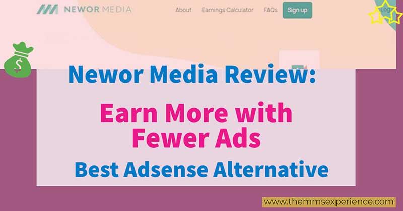 newor media review - ezoic and adsense alternative