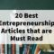 entrepreneurship articles and entrepreneur articles 2021